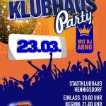 Die Ü30 Klubhaus-Party in Hennigsdorf