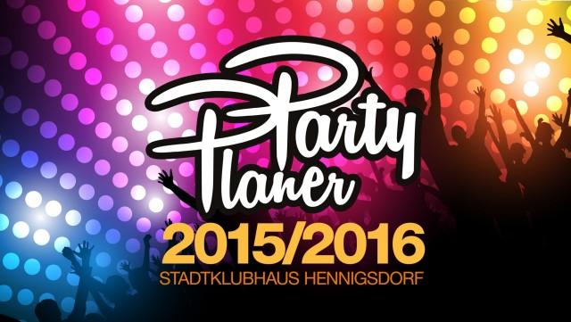 Der PartyPlaner 2015/16