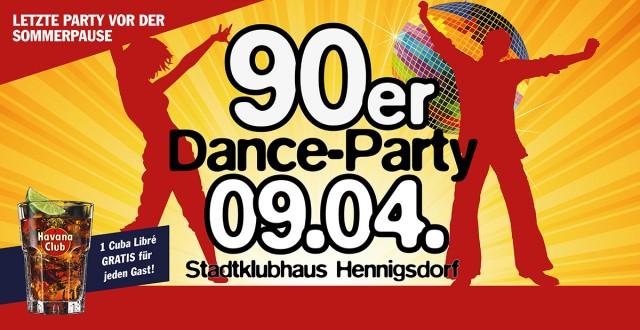 09.04. – 90er Dance Party