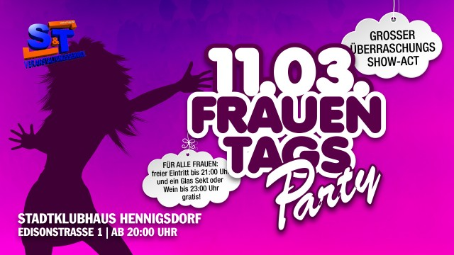 11.03. – FrauentagsParty 2017