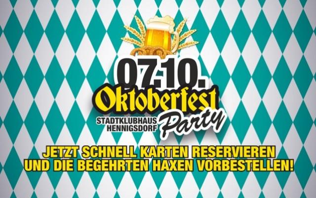 07.10. – OKTOBERFEST-PARTY 2017